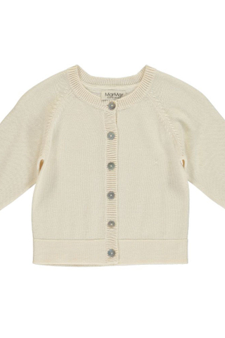Totti Cotton Knit Cardigan in Birch