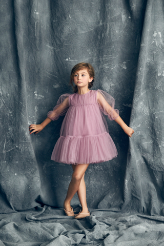 Alice Dress in Lavender Herb
