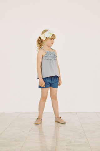 Panja Shorts in Ensign Blue