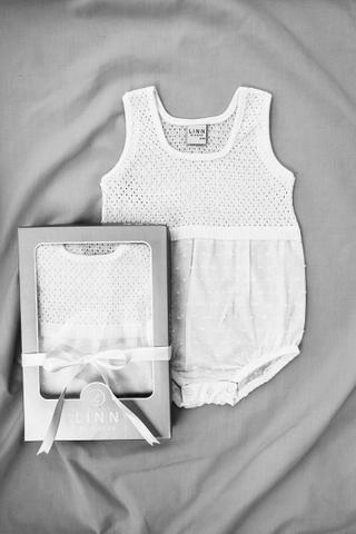 Amelia Sleeveless Bodysuit in White